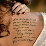 фото тату цитаты от 18.04.2018 №318 - quote tattoos - tatufoto.com