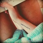 фото тату цитаты от 18.04.2018 №321 - quote tattoos - tatufoto.com