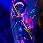 фото ультрафиолетовые тату от 21.04.2018 №011 - ultraviolet tattoo - tatufoto.com