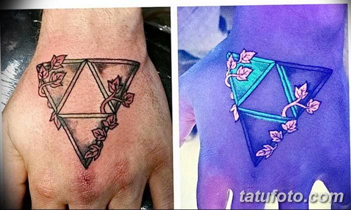 фото ультрафиолетовые тату от 21.04.2018 №012 - ultraviolet tattoo - tatufoto.com