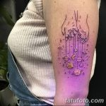 фото ультрафиолетовые тату от 21.04.2018 №013 - ultraviolet tattoo - tatufoto.com