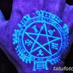 фото ультрафиолетовые тату от 21.04.2018 №014 - ultraviolet tattoo - tatufoto.com