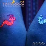 фото ультрафиолетовые тату от 21.04.2018 №018 - ultraviolet tattoo - tatufoto.com