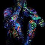 фото ультрафиолетовые тату от 21.04.2018 №021 - ultraviolet tattoo - tatufoto.com