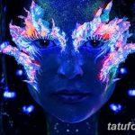 фото ультрафиолетовые тату от 21.04.2018 №027 - ultraviolet tattoo - tatufoto.com