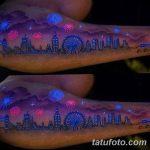 фото ультрафиолетовые тату от 21.04.2018 №034 - ultraviolet tattoo - tatufoto.com