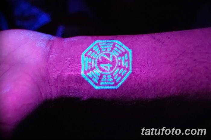 фото ультрафиолетовые тату от 21.04.2018 №036 - ultraviolet tattoo - tatufoto.com