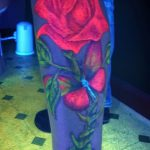 фото ультрафиолетовые тату от 21.04.2018 №044 - ultraviolet tattoo - tatufoto.com