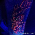 фото ультрафиолетовые тату от 21.04.2018 №048 - ultraviolet tattoo - tatufoto.com