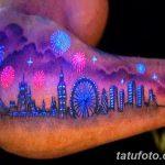 фото ультрафиолетовые тату от 21.04.2018 №049 - ultraviolet tattoo - tatufoto.com