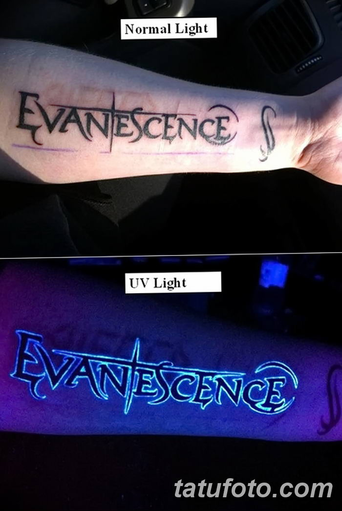 фото ультрафиолетовые тату от 21.04.2018 №059 - ultraviolet tattoo - tatufoto.com