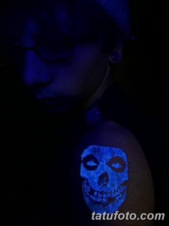 фото ультрафиолетовые тату от 21.04.2018 №061 - ultraviolet tattoo - tatufoto.com