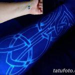фото ультрафиолетовые тату от 21.04.2018 №077 - ultraviolet tattoo - tatufoto.com