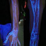 фото ультрафиолетовые тату от 21.04.2018 №079 - ultraviolet tattoo - tatufoto.com