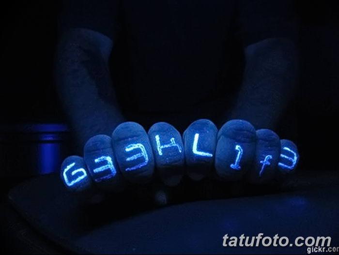 фото ультрафиолетовые тату от 21.04.2018 №092 - ultraviolet tattoo - tatufoto.com