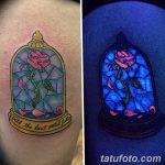 фото ультрафиолетовые тату от 21.04.2018 №095 - ultraviolet tattoo - tatufoto.com