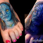 фото ультрафиолетовые тату от 21.04.2018 №110 - ultraviolet tattoo - tatufoto.com