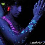 фото ультрафиолетовые тату от 21.04.2018 №150 - ultraviolet tattoo - tatufoto.com