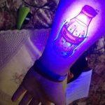 фото ультрафиолетовые тату от 21.04.2018 №157 - ultraviolet tattoo - tatufoto.com