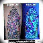 фото ультрафиолетовые тату от 21.04.2018 №163 - ultraviolet tattoo - tatufoto.com