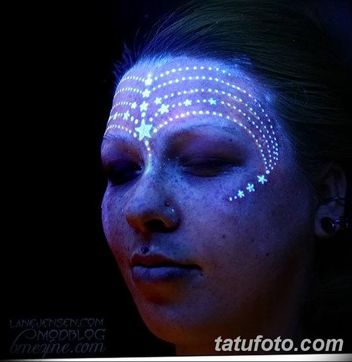фото ультрафиолетовые тату от 21.04.2018 №176 - ultraviolet tattoo - tatufoto.com