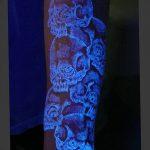 фото ультрафиолетовые тату от 21.04.2018 №177 - ultraviolet tattoo - tatufoto.com