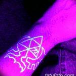 фото ультрафиолетовые тату от 21.04.2018 №179 - ultraviolet tattoo - tatufoto.com