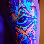фото ультрафиолетовые тату от 21.04.2018 №189 - ultraviolet tattoo - tatufoto.com