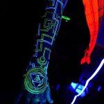 фото ультрафиолетовые тату от 21.04.2018 №193 - ultraviolet tattoo - tatufoto.com