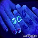фото ультрафиолетовые тату от 21.04.2018 №203 - ultraviolet tattoo - tatufoto.com