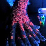 фото ультрафиолетовые тату от 21.04.2018 №204 - ultraviolet tattoo - tatufoto.com