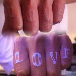 фото ультрафиолетовые тату от 21.04.2018 №205 - ultraviolet tattoo - tatufoto.com