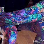 фото ультрафиолетовые тату от 21.04.2018 №211 - ultraviolet tattoo - tatufoto.com
