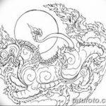фото эскизы тату амулеты от 30.04.2018 №103 - sketches of tattoo amulets - tatufoto.com