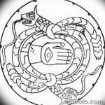 фото эскизы тату амулеты от 30.04.2018 №136 - sketches of tattoo amulets - tatufoto.com
