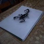 фото эскиз тату скорпион от 24.04.2018 №001 - sketch of a scorpion tattoo - tatufoto.com