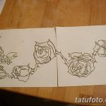 фото эскиз тату скорпион от 24.04.2018 №112 - sketch of a scorpion tattoo - tatufoto.com