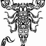 фото эскиз тату скорпион от 24.04.2018 №132 - sketch of a scorpion tattoo - tatufoto.com