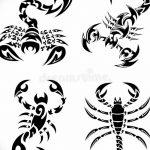 фото эскиз тату скорпион от 24.04.2018 №156 - sketch of a scorpion tattoo - tatufoto.com