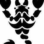 фото эскиз тату скорпион от 24.04.2018 №160 - sketch of a scorpion tattoo - tatufoto.com