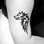 фото Мехенди волка от 05.05.2018 №015 - Mehendi the Wolf - tatufoto.com