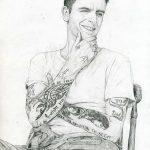 фото Тату Джозефа Гилгана от 04.05.2018 №042 - Joseph Gilgan's Tattoo - tatufoto.com