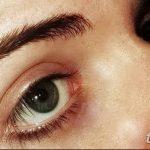 фото пирсинг брови от 06.06.2018 №015 - eyebrow piercing - tatufoto.com