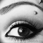 фото пирсинг брови от 06.06.2018 №039 - eyebrow piercing - tatufoto.com