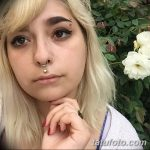 фото пирсинг брови от 06.06.2018 №082 - eyebrow piercing - tatufoto.com