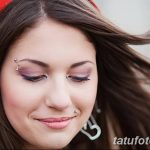 фото пирсинг брови от 06.06.2018 №089 - eyebrow piercing - tatufoto.com