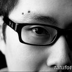 фото пирсинг брови от 06.06.2018 №108 - eyebrow piercing - tatufoto.com