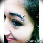 фото пирсинг брови от 06.06.2018 №114 - eyebrow piercing - tatufoto.com