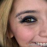 фото пирсинг брови от 06.06.2018 №119 - eyebrow piercing - tatufoto.com