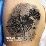 фото тату пазл - головоломка от 02.05.2018 №027 - tattoo puzzle - picture - tatufoto.com